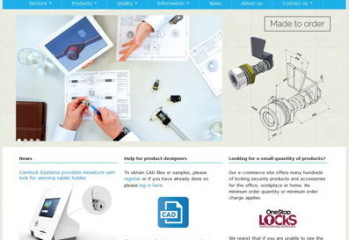 Camlock's new website