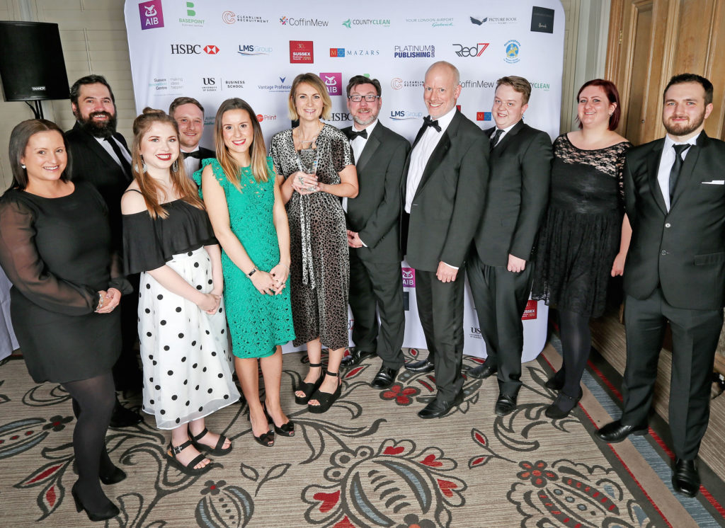 Paxton Sussex Business Award official photo