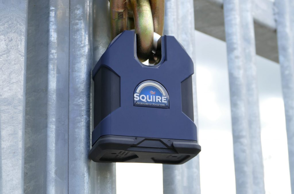 Squire's new SS100 padlock