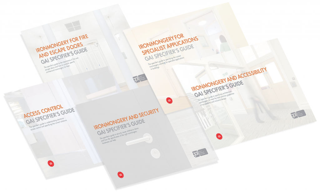 GAI - New Specifiers Guides