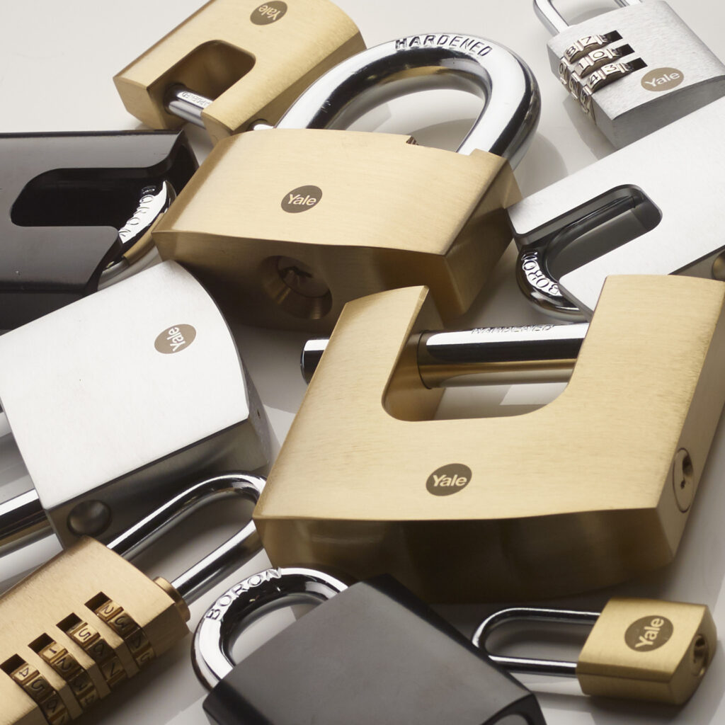Yale Maximum Security padlocks